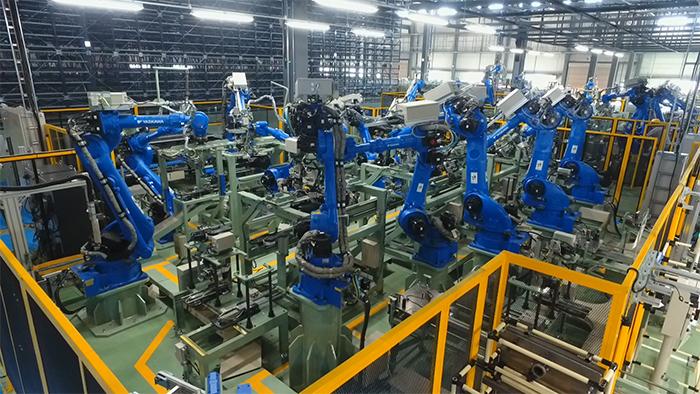 新樹脂工場(2次加工ライン)