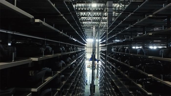 新樹脂工場(自動倉庫)